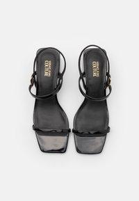 Versace Jeans Couture - Sandály - black - 4