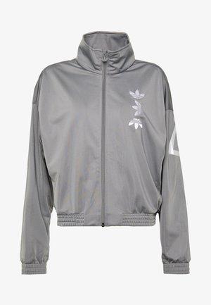 LOGO - Training jacket - grey/white