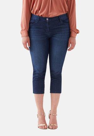 CAPRI - Shorts di jeans - blu