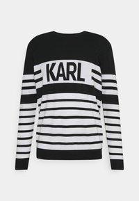 KARL LAGERFELD - CREWNECK - Maglione - black - 0