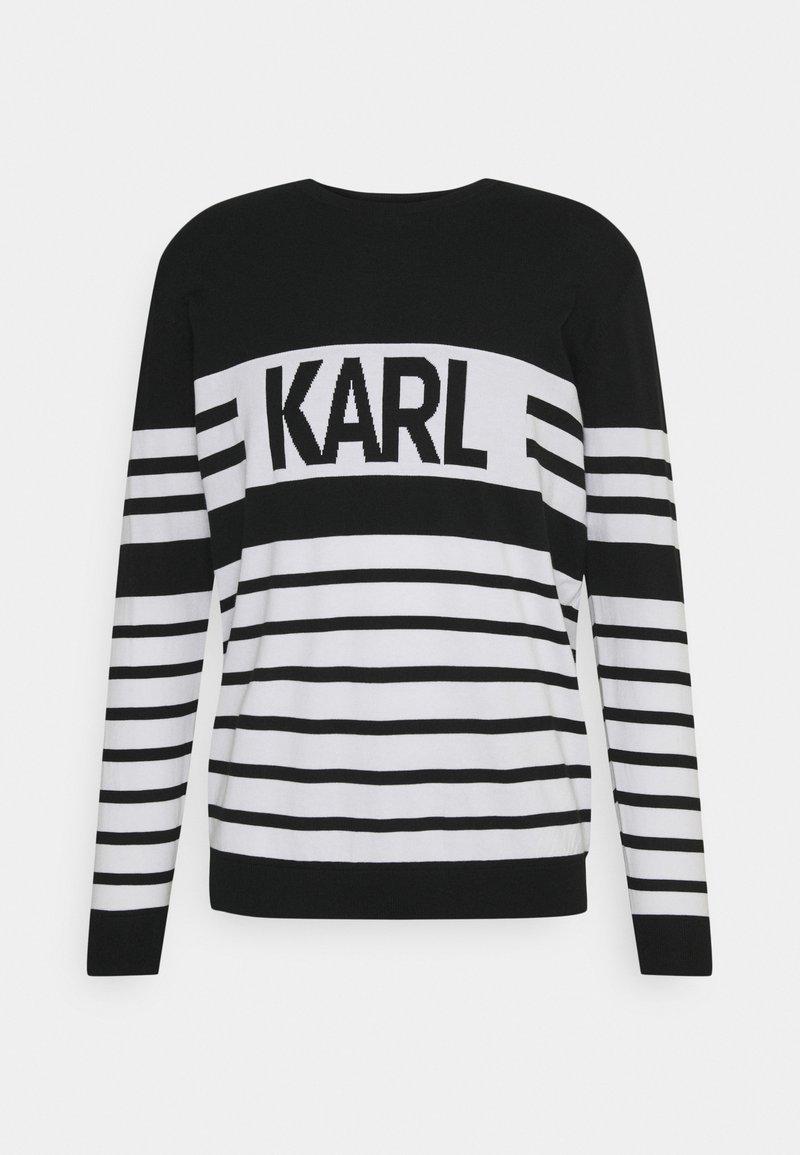 KARL LAGERFELD - CREWNECK - Maglione - black