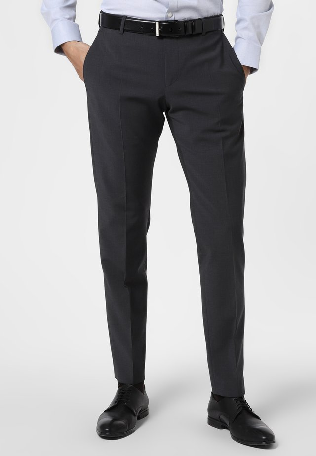 Suit trousers - anthrazit