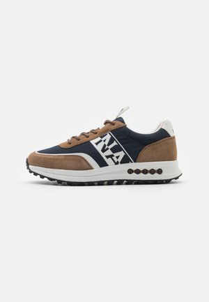 SLATE - Trainers - brown/navy