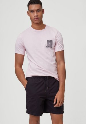 T-shirt imprimé - crystal rose