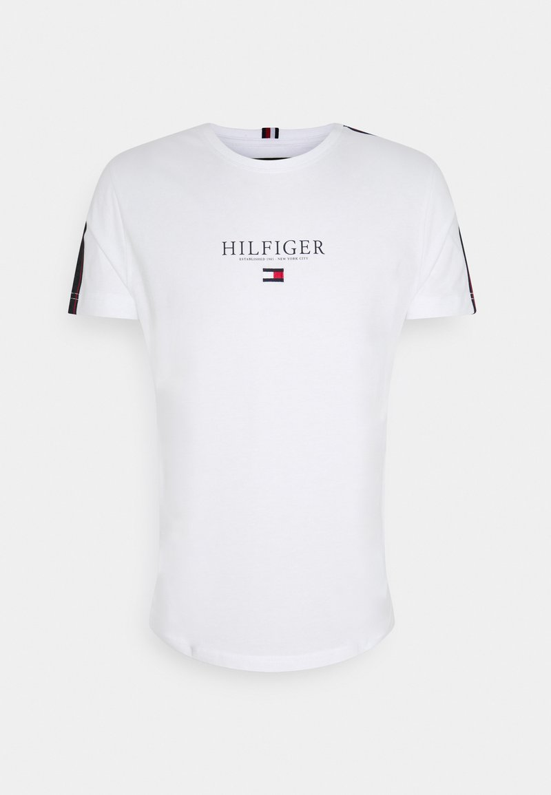 Tommy Hilfiger - TAPED TEE - T-shirt med print - white