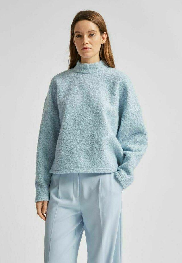 SLFHALLI LS - Bluza - cashmere blue