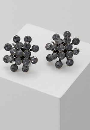 MAGIC FIREBALL - Øreringe - grey crystal