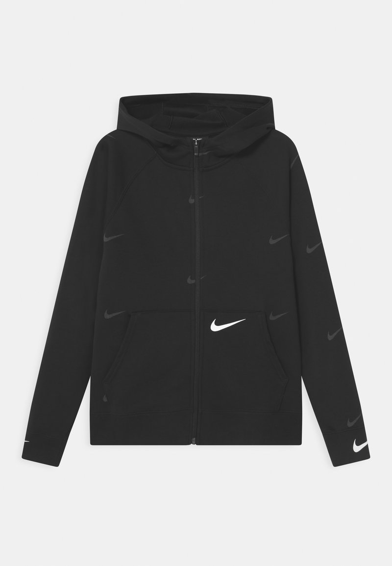 Nike Sportswear - Mikina na zip - black/white
