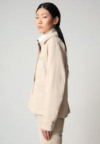 Napapijri - ALIE - Denim jacket - natural beige - 3
