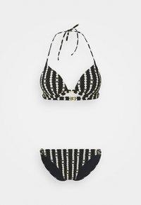 Maryan Mehlhorn - MARYAN CATENA SET - Bikini - black/champagne - 0