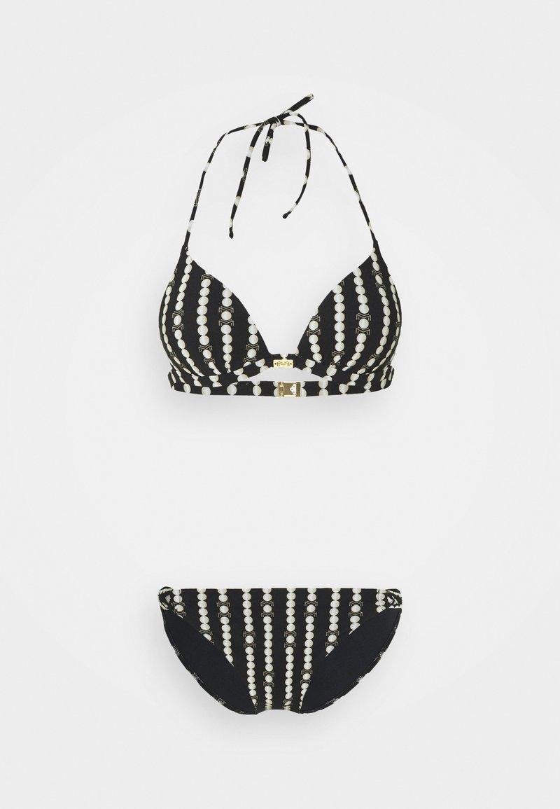 Maryan Mehlhorn - MARYAN CATENA SET - Bikini - black/champagne