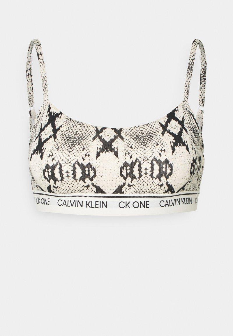 Calvin Klein Underwear - ONE PRIDE CAPSULE UNLINED BRALETTE - Bustier - oatmeal heather
