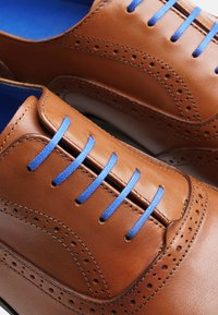 SHOEPASSION - NO. 5621 BL - Smart lace-ups - nut brown - 5