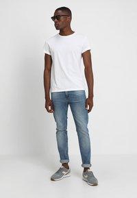 Pier One - 5 PACK  - T-shirt basic - white - 0