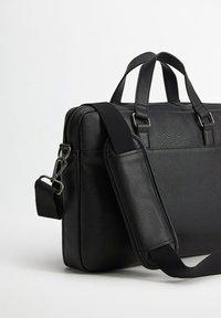 Mango - GRAIN - Briefcase - schwarz - 1