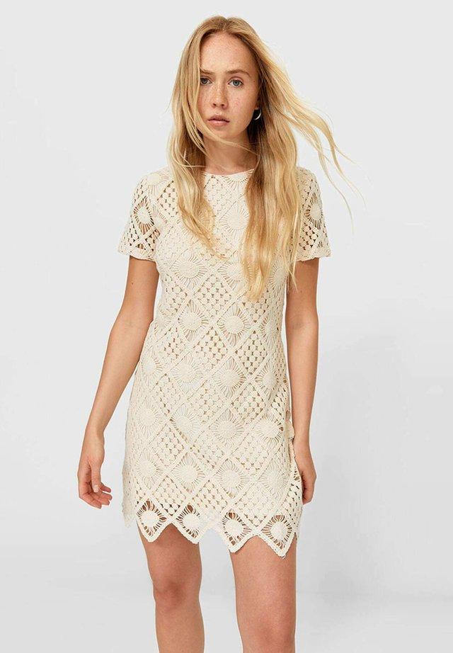 Sukienka letnia - beige