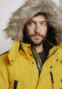 TOM TAILOR - Winter coat - californian yellow - 3