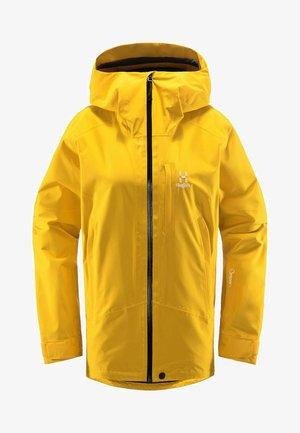 LUMI JACKET - Ski jacket - pumpkin yellow