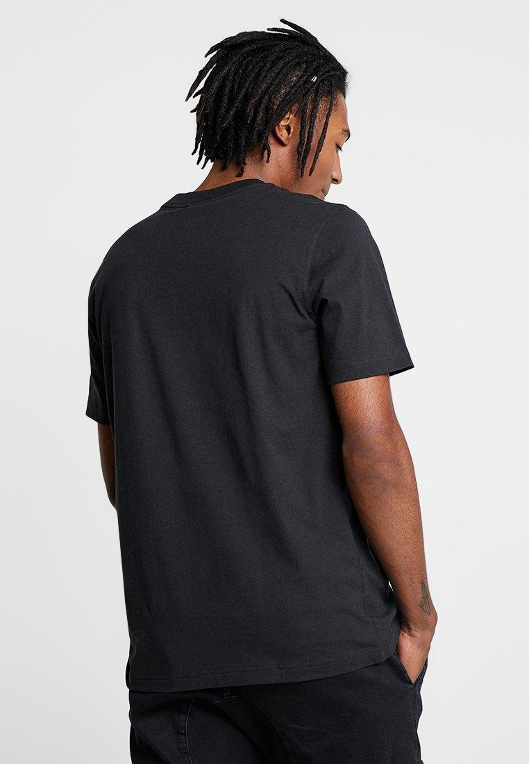adidas Originals BODEGA SUPER A POP ART GRAPHIC TEE - Print T-shirt - black 9lGh6