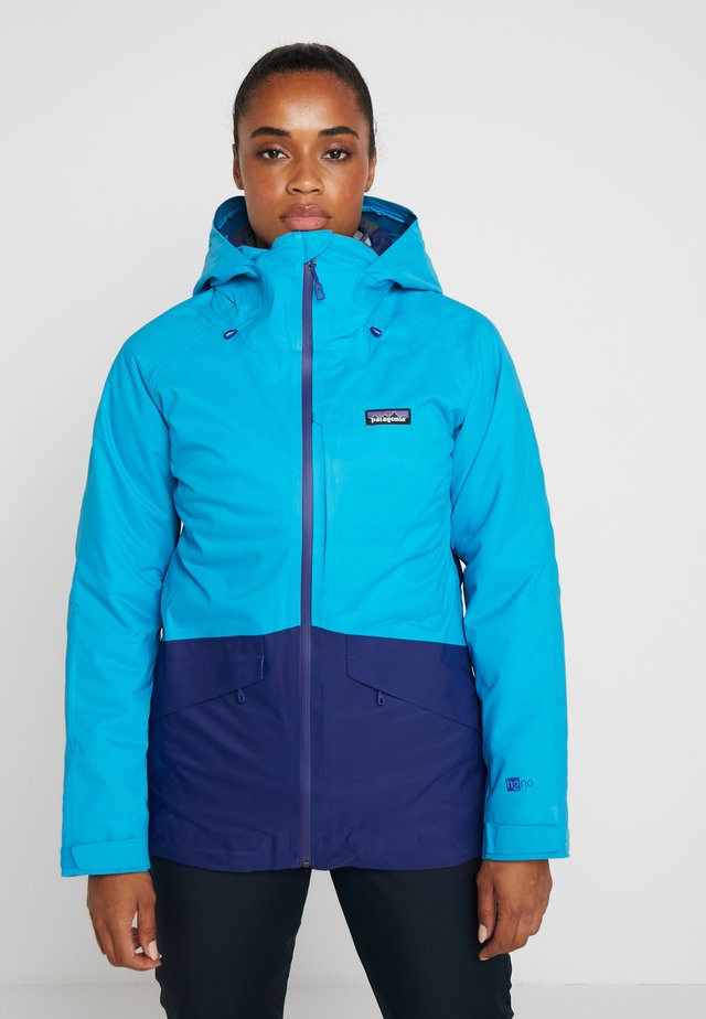 INSULATED SNOWBELLE - Laskettelutakki - curacao blue