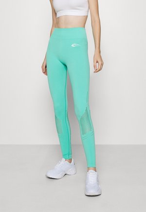 SEAMLESS LEGGINGS CONFIDENCE - Leggings - türkis