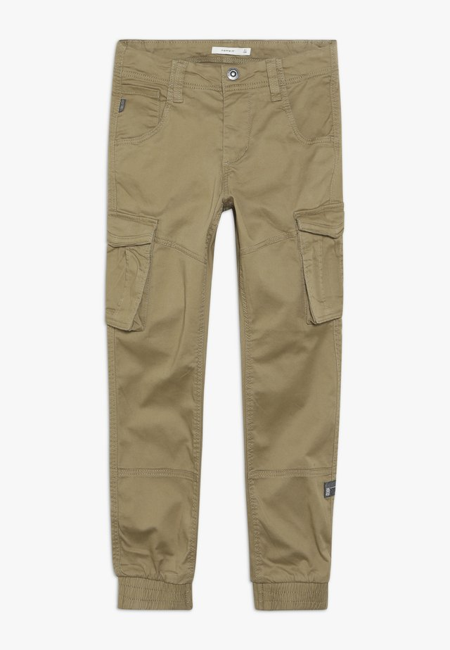 NITBAMGO PANT  - Cargo trousers - kelp