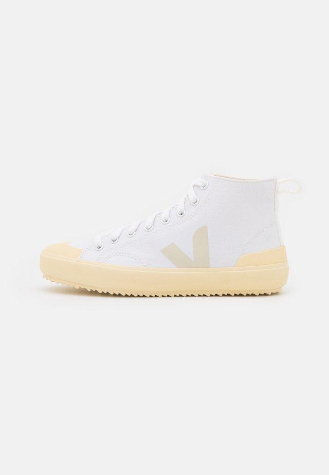 NOVA  - Sneakersy wysokie - white/butter