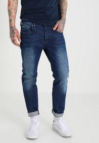 G-Star - 3301 STRAIGHT - Straight leg jeans - accel stretch denim - 0