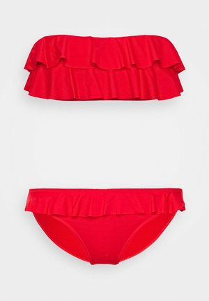 SET - Bikini - red