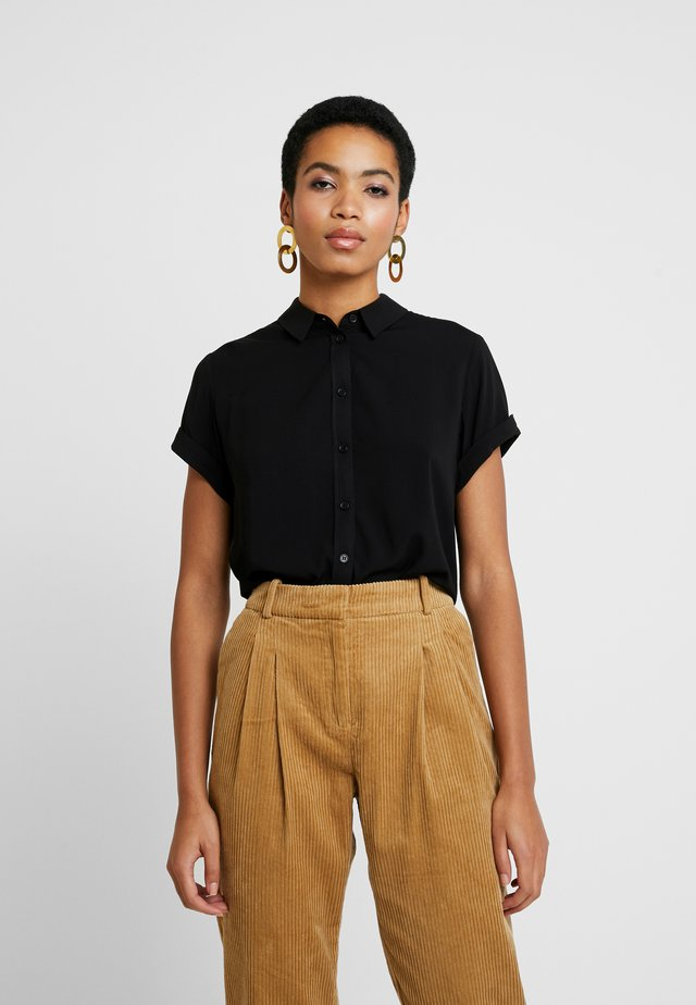 MAJAN - Button-down blouse - black