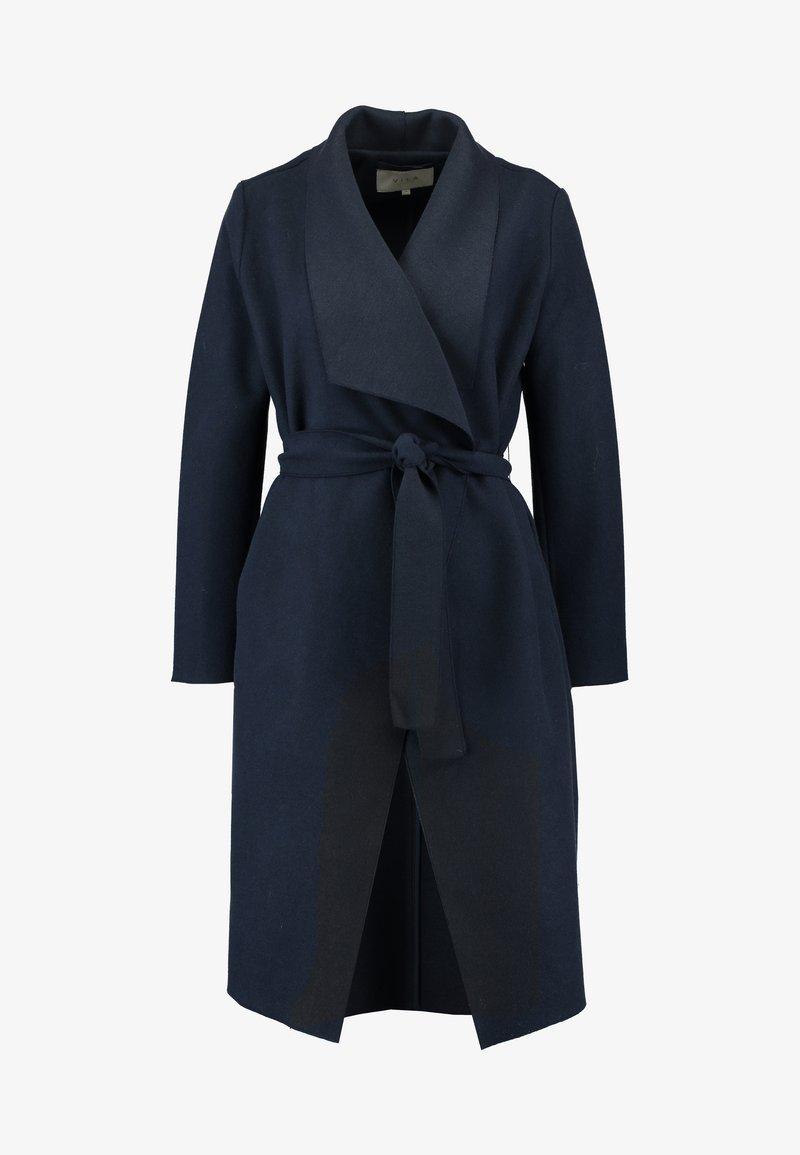 Vila Takki viBalis Long Jacket Harmaa Pitkät takit