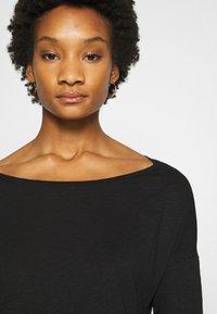Sisley - Long sleeved top - black - 4