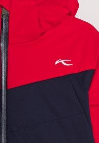Kjus - BOYS DOWNFORCE JACKET - Ski jacket - atlanta/scarlet - 4