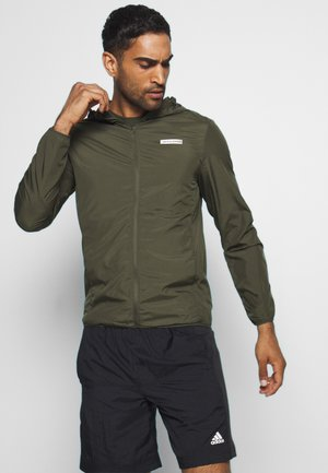 JCOZSPORT JACKET - Chaqueta de entrenamiento - forest night
