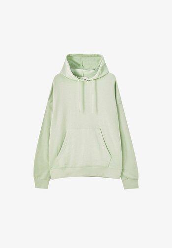 Hoodie - mottled light green
