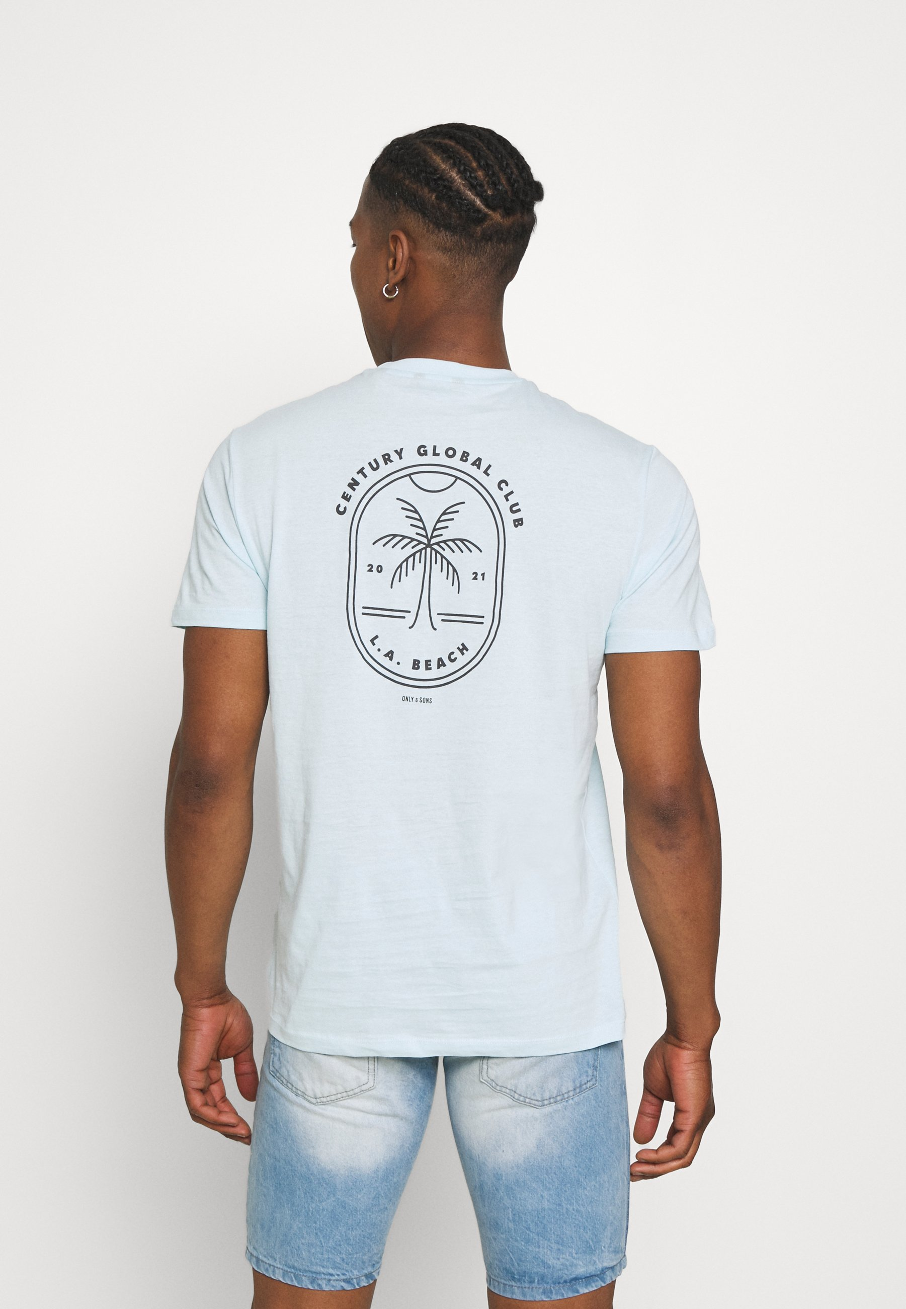 Men ONSPINE LIFE TEE - Print T-shirt