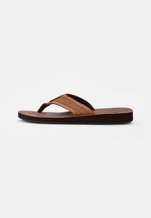 COMBO - Japonki - tobacco brown