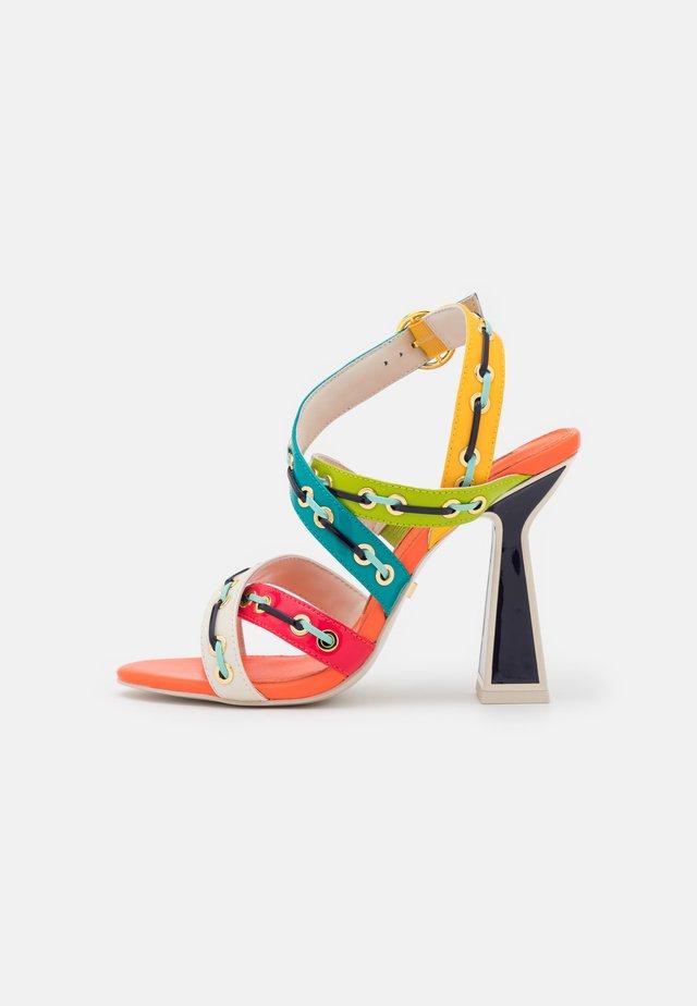 TORO - Sandals - tango multicolor