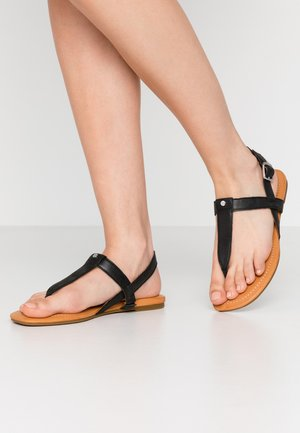 DINUBA - T-bar sandals - black