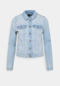 VMFAITH SLIM JACKET - Denim jacket - light blue denim