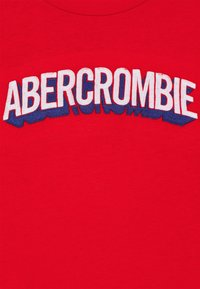 Abercrombie & Fitch - TECH LOGO  - T-shirts print - red - 2