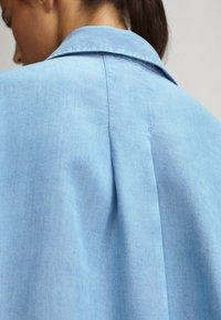 Massimo Dutti - Button-down blouse - light blue - 6
