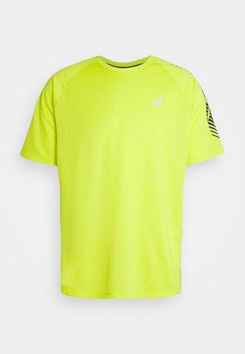 ICON - Camiseta estampada - sour yuzu/french blue