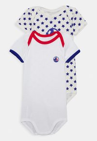 Petit Bateau - 2 PACK - Body - white/multicoloured - 0