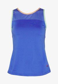 ANNIE - Funkční triko - amparo blue