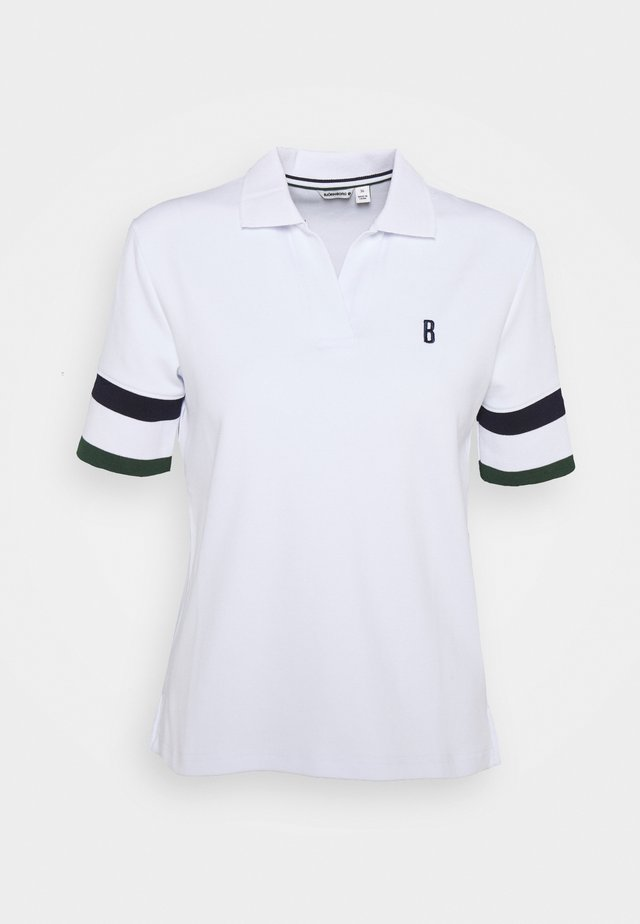 MAJA TENNIS - Poloshirt - brilliant white