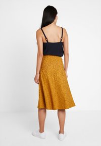 KIOMI - A-line skirt - orange/black - 2