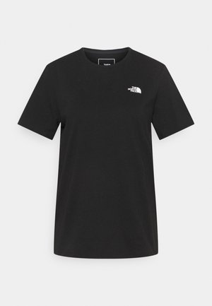 FOUNDATION GRAPHIC TEE - Basic T-shirt - black