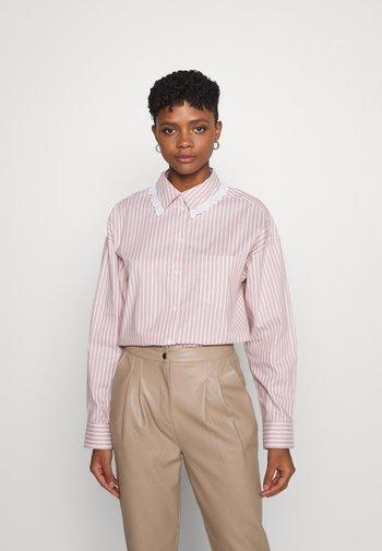 MEJA FANCY SHIRT - Button-down blouse - salmon