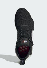 adidas Originals - NMD_R1 - Sneakersy niskie - core black dust purple core black - 3